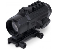 Steiner Optics - T332 (3x32mm) T-Sight Rifle Red Dot Sight with Rubber Armoring, Waterproof, Fogproof and Shockproof, 5.56 Reticle