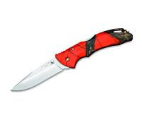 Buck Knives 0285 Bantam Knife, Mossy Oak Blaze Orange Camo