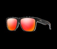 Smith Optics - Lowdown XL 2 Polarized Sunglasses with ChromaPop Red Mirror Lens, Matte Black
