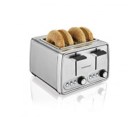 Hamilton Beach - Modern Chrome 4-Slice Toaster