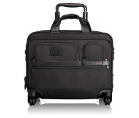 Tumi Alpha 2 4 Wheeled Deluxe Brief with Laptop Case