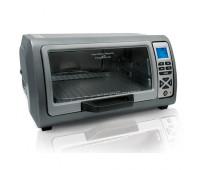 Hamilton Beach - Easy Reach Toaster Oven w/ Roll-Top Door