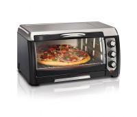 Hamilton Beach - 6 Slice Easy Reach Toaster Oven
