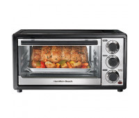 Hamilton Beach - 6 Slice Capacity Toaster Oven