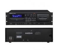 Tascam - Rackmount Player/Recorder for Cassette/CD/USB