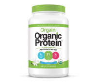 Orgain - Organic Vegan, Non-GMO Plant Based Protein Powder - Sweet Vanilla Bean (2.03 LB)