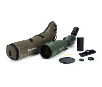 Celestron Regal M2 100ED Spotting Scope – Fully Multi-Coated Optics – Hunting Gear – ED Objective Lens for Bird Watching, Hunting and Digiscoping – Dual Focus – 22-67x Zoom Eyepiece