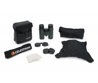 Celestron TrailSeeker 8x32 Binoculars – Fully Multi-Coated Optics – Binoculars for Adults – Phase and Dielectric Coated BaK-4 Prisms – Waterproof & Fogproof – Rubber Armored – 6.5 Feet Close Focus