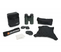 Celestron TrailSeeker 8x42 Binoculars – Fully Multi-Coated Optics – Binoculars for Adults – Phase and Dielectric Coated BaK-4 Prisms – Waterproof & Fogproof – Rubber Armored – 6.5 Feet Close Focus