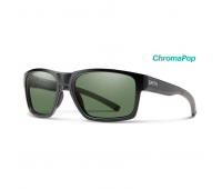 Smith Optics - Outlier 2 Polarized Sunglasses with ChromaPop Gray/Green Lens, Matte Black