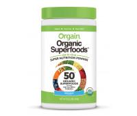 Orgain - Organic Green Superfoods Powder with Antioxidants & 1 Billion Probiotics - Original (0.62 LB)