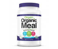 Orgain - Organic Plant Based 20g Protein Meal Replacement Powder - Vanilla Bean  (2.01 LB)