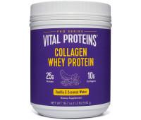 Vital Proteins - Collagen Whey Protein (Vanilla & Coconut Water, 20.8oz)