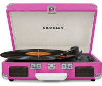 Crosley - Cruiser Deluxe Turntable - Pink