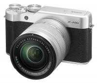 Fujifilm X-A10 Mirrorless Camera XC16-50mm F3.5-5.6 OIS II Kit - Silver