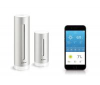 Netatmo – Weather Station Indoor/Outdoor with Wireless Outdoor Sensor, Compatible with Amazon Alexa