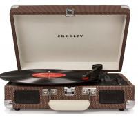 Crosley - Cruiser Deluxe Turntable - Tweed