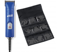 Andis Pro-Animal Bundle With Andis UltraEdge Super 2-Speed Detachable Blade Clipper, Professional Animal/Dog Grooming, AGC2 - Blue + Blade Carrying Bag