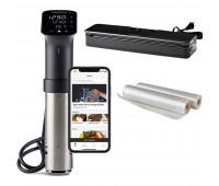 Anova Precision Pro with Vacuum Sealer and Vacuum Sealer Rolls Bundle