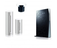 Netatmo bundle with Netatmo Weather Station, NWS01-US +  Rain Gauge for Netatmo Weather Station + TP-LINK Archer CR700 AC1750 Wireless Dual Band 16x4 DOCSIS 3.0 Cable Modem Router