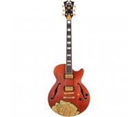D'Angelico - Premier Grateful Dead SS Semi-Hollow Electric Guitar - Satin Walnut