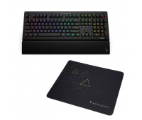 Das Keyboard X50Q Mechanical Keyboard: RGB-WIN + Das Keyboard Triangle Mouse Pad