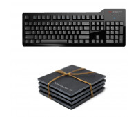 Das Keyboard Bundle With Model S Professional for Mac Mechanical Keyboard  + Das Keyboard 4-Piece Stone Coaster Set