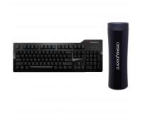 Das Keyboard Bundle With Model S Professional Mechanical Keyboard  + Das Keyboard Stainless Steel Tumbler