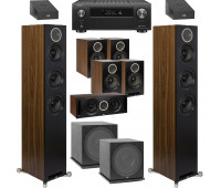 ELAC Debut Reference 9.2 Dolby Atmos Home Theater System Bundle With DFR52 Floorstanding Speakers and Denon AVR-X4500H