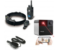 Dogtra + Petcube Bundle -ARC HANDSFREE Remote Trainer + BC10AUTO Car Charger + Petcube Play 2 Wi-Fi Pet Camera with Laser Toy & Alexa Built-In, for Cats & Dogs