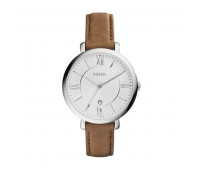 Fossil Women's Jacqueline Brown Leather Watch
