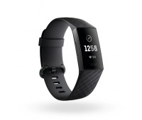 Fitbit - Charge 3 Fitness Tracker Graphite/Black