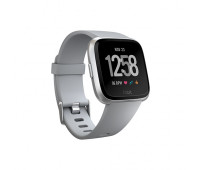 Fitbit - Versa Smartwatch Gray/Silver Aluminum
