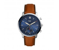 Fossil Men's Hybrid Smartwatch Neutra Luggage Leather