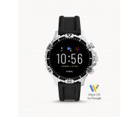 Fossil Gen 5 Smartwatch Garrett HR Black Silicone