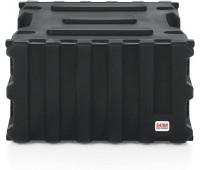 "Gator Cases Pro-Series Molded Mil-Grade PE Rack Case; 6U, 19"" Deep"