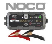 NOCO Boost Sport GB20 400 Amp 12V UltraSafe Lithium Jump Starter