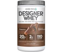 Designer Protein - Designer Whey Protein Powder - Gourmet Chocolate (2lb)