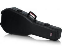 Gator Cases TSA Series ATA Molded Polyethylene Guitar Case for Dreadnaught Acoustic Guitars