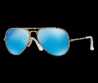 Ray-Ban Polarized Aviator Flash Lens Sunglasses