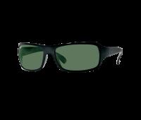 Ray-Ban RB4075 Large Rectangular Wrap Sunglasses