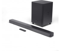 """JBL Bar 5.1 Soundbar with Built-in Virtual Surround, 4K and 10"""" Wireless Subwoofer"""