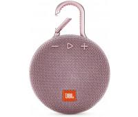 JBL Clip 3 Portable Waterproof Wireless Bluetooth Speaker - Pink