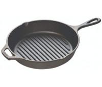 "Lodge 10.25"" Cast Iron Grill Pan"