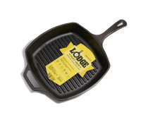 """Lodge 10.5"""" Square Cast Iron Grill Pan"""
