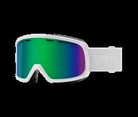 Smith Optics - Range Green Sol-X Mirror Goggles - White