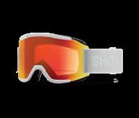 Smith Optics - Squad Chromapop Everyday Red Mirror Goggles - White Vapor