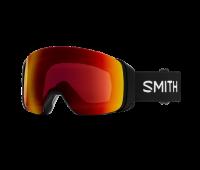 Smith Optics - 4D MAG Snow Goggles with Bonus Lens, Black