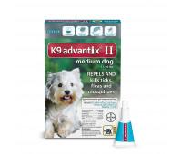 Bayer - K9 Advantix II Mediumᅠ 11-20#