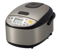 Zojirushi Micom 3 Cup Rice Cooker & Warmer - Stainless Black